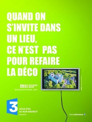 Campagne de pub décalée pour France 3