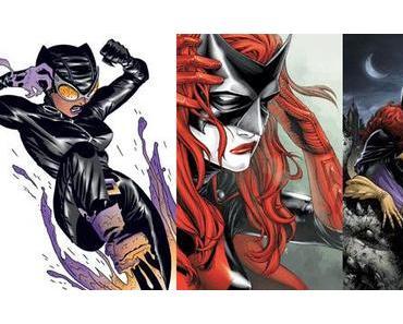 Guide de lecture de comics : Catwoman, Batwoman, Batgirl