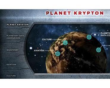 Learn about Krypton pour la sortie DVD de Man of Steel