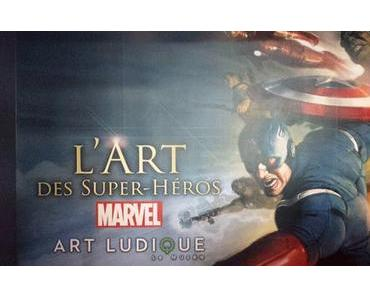 Expositions : L'art des Super-héros Marvel et L'art d'Alex Ross