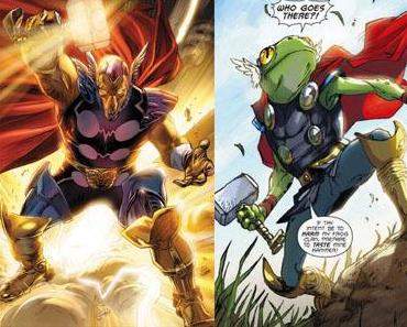 Ces super-héros qui se font remplacer