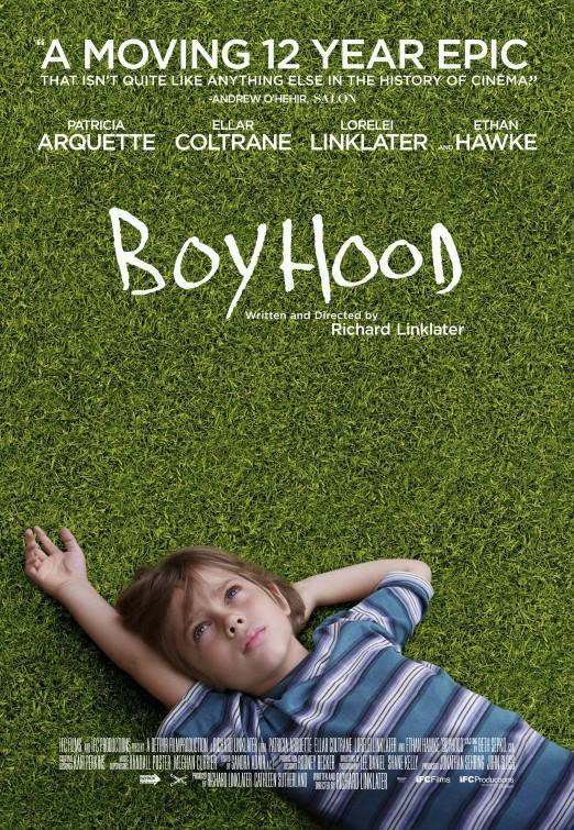 Boyhood Movie Poster