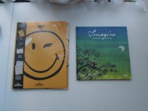 Album Imagine et pochette Smiley