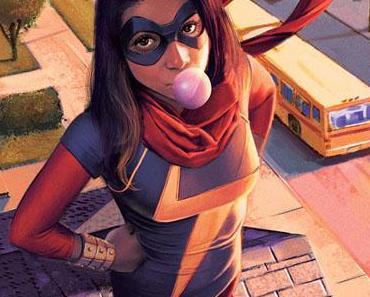 Critique de comics : Miss Marvel tome 1