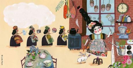 La princesse aux petits plats, Annie Marandin & Lucile Placin