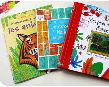 Graines d'artistes avec les éditions Usborne