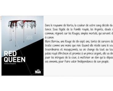 Red Queen | Victoria Aveyard (Red Queen #1)