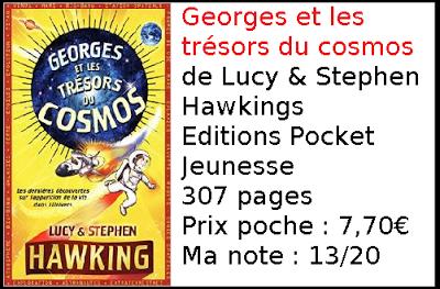 Georges et les trésors du Cosmos de Lucy & Stephen Hawking