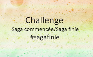 Challenge Saga commencée / Saga finie