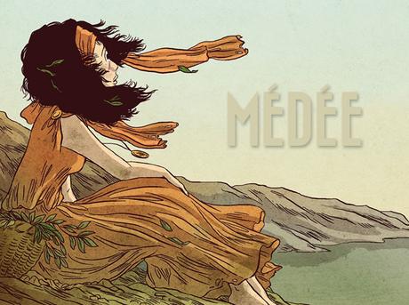 Médée, tome 1 : L'Ombre d'Hécate [Nancy Peña et Blandine Le Callet]