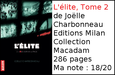 L'élite, tome 2 de Joëlle Charbonneau