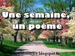 Une semaine, un poème #30