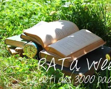 RAT a Week ~ Le défi des 3000 pages!