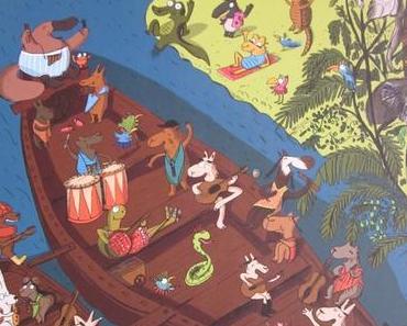 Le Fabuleux voyage de Non-Non et ses amis & Au pays merveilleux de l'intrépide Non-Non, de Magali Le Huche