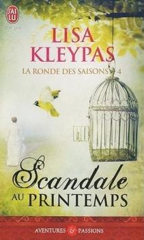Couverture La ronde des saisons, tome 4 : Scandale au printemps