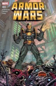 Armor Wars #3-5