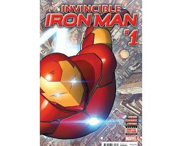 INVINCIBLE IRON MAN #1 : LA REVIEW ALL-NEW ALL-DIFFERENT