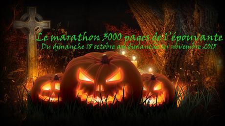 Le marathon 3000 pages de l'épouvante, RAT, Marathon lecture, Halloween
