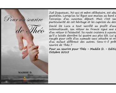 Pour un sourire de Théo – Maddie D. ♥♥♥♥♥