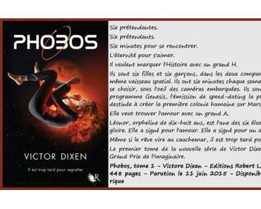 Couverture de Phobos #2 de Victor Dixen