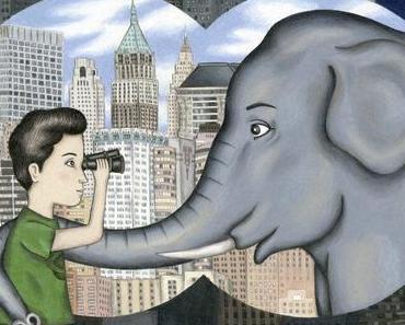 Un éléphant à New-York