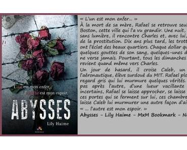 Abysses – Lily Haime ♥♥♥♥♥♥