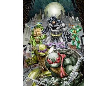 BATMAN / TEENAGE MUTANT NINJA TURTLES #1 : LA REVIEW