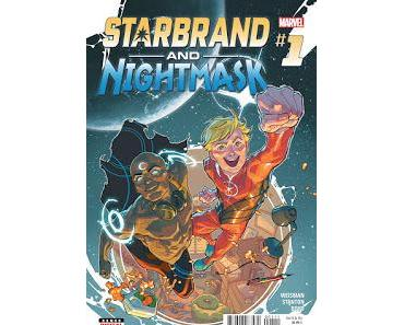 STARBRAND & NIGHTMASK #1 : LA REVIEW ALL-NEW ALL-DIFFERENT