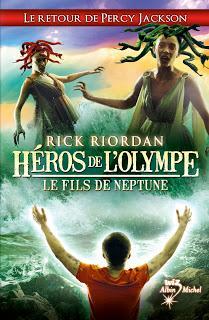 [Chronique n°107] Héros de l'Olympe (T2) : Le fils de Neptune - Rick Riordan
