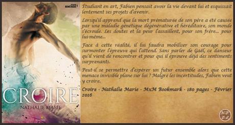 Croire – Nathalie Marie ♥♥♥♥♥