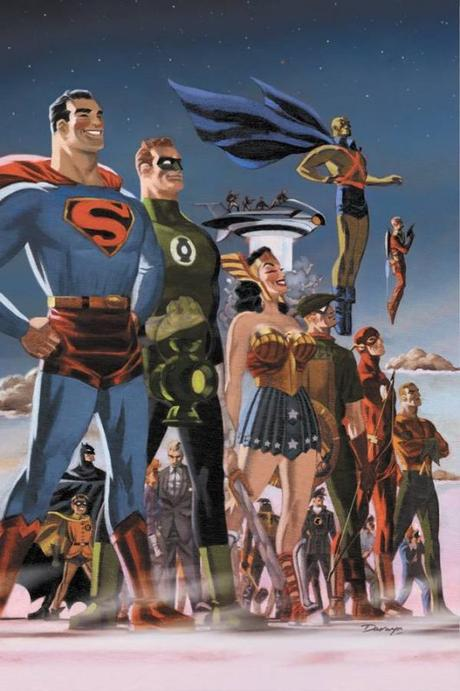 Justice LEague Darwyn Cooke