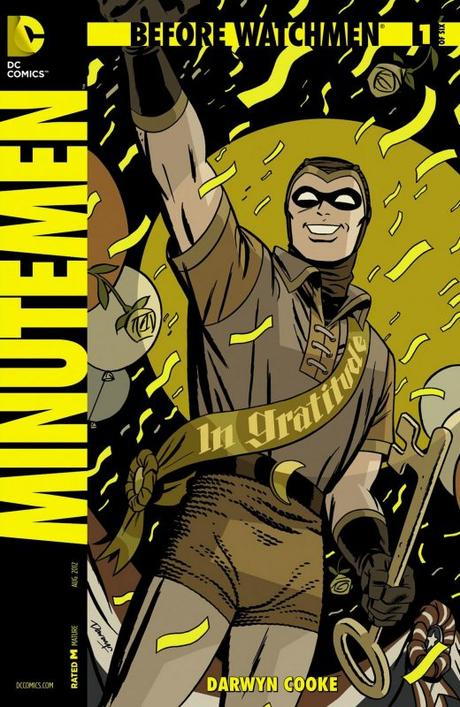 before watchmen minutemen