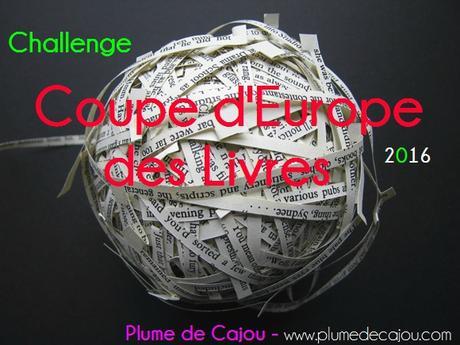 Challenge - Coupe d'Europe des livres 2016