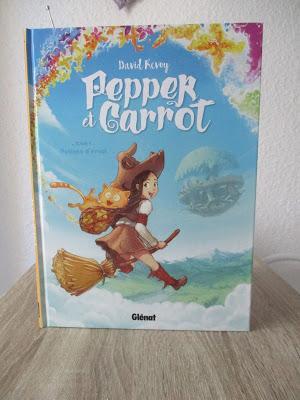 Pepper & Carrot, tome 1 : Potion d'envol | Une BD ensorcelante