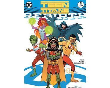 TEEN TITANS REBIRTH : (RE)FORMATION DES JEUNES TITANS