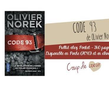 CODE 93 de Olivier Norek