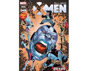 """ALL NEW X-MEN 5 : LES DEBUTS DES """"APOCALYPSE WARS"""" EN KIOSQUE"""