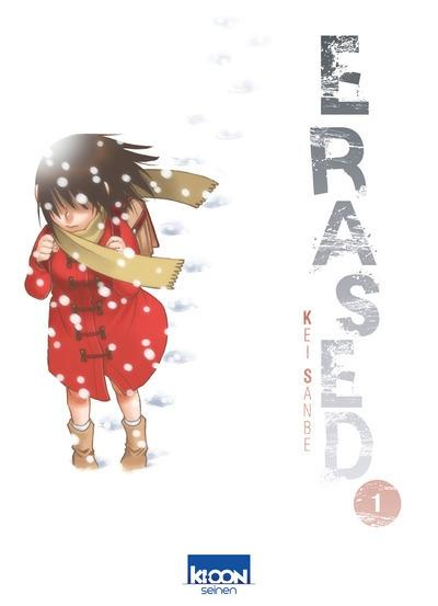 Couverture Erased, tome 1