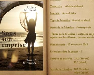 Sous son emprise T2 - Délivrance - Aloïsia Nidhead