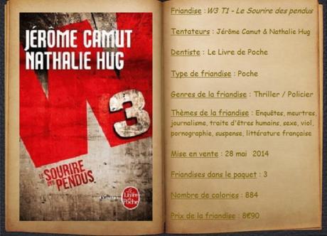 W3 T1 - Le Sourire des pendus - Jérôme Camut & Nathalie Hug