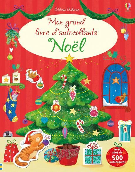 [Les lecteurs en herbe] Mon grand livre d'autocollants Noël