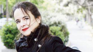 Amelie Nothomb à Paris Bd Quinet