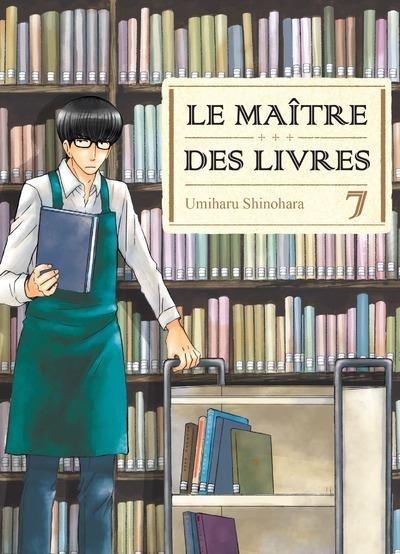 Couverture Le maître des livres, tome 07