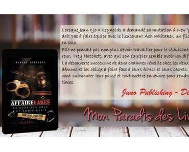 Brigade des vols et homicides #1 – L'affaire Eakes – Aurore Doignies ♥♥♥♥♥
