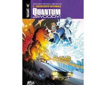 QUANTUM AND WOODY TOME 2 : (IN)SECURITE NATIONALE (Bliss Comics)