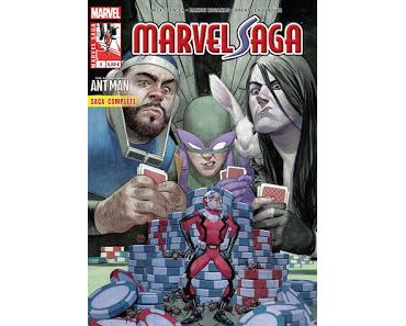 MARVEL SAGA 4 : ANT-MAN LE CASSE DU SIECLE