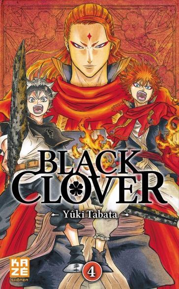 Manga - Manhwa - Black Clover Vol.4