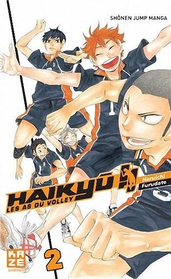 Couverture Haikyû !! : Les as du volley ball, tome 02