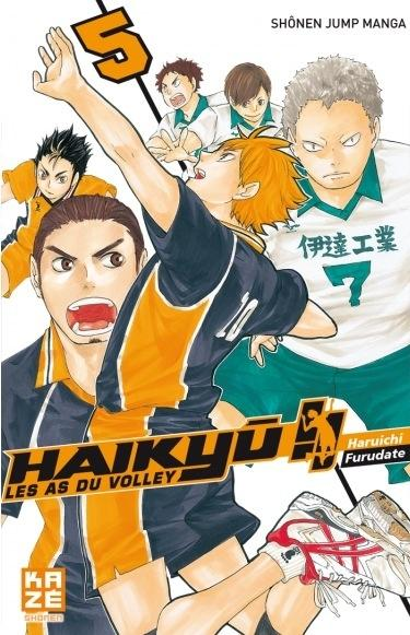 Couverture Haikyû !! : Les as du volley ball, tome 05
