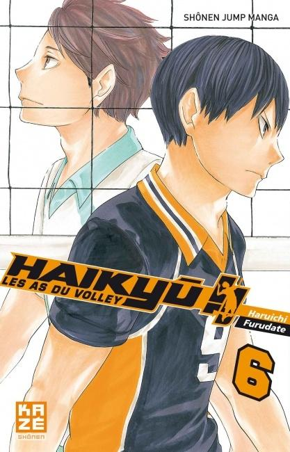 Couverture Haikyû !! : Les as du volley ball, tome 06